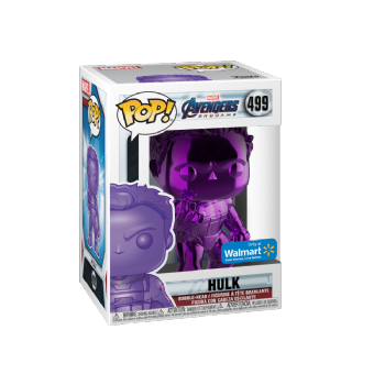 Funko POP! Vinyl Walmart Exclusive Avengers End Game Purple  Chrome Hulk